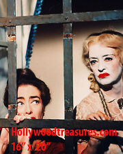 "Whatever Happened to Baby Jane~Bette Davis~Joan Crawford~Poster~Photo~16"" x  20"""