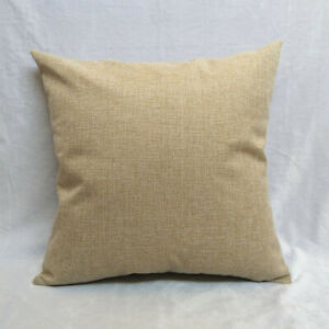 Home decorative pillow seat back cushions 45x45cm pillowcase, suitable for print