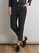 Somerset by Alice Temperley Sail Boat Navy Blue Trousers, Size 18