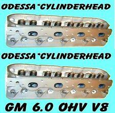 2 GM GMC HUMMER H2 CADILLAC 6.0 OHV V8 CYLINDER HEADS CAST#317 ALUMINUM REBUILT