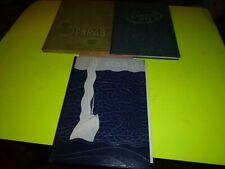 3 Barnesville Ohio Senrab Yearbooks 1945 1946 1948