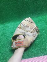 VINTAGE JOHN MAYBERRY Right FIRST BASEMANS GLOVE MacGREGOR BM7T Rare WOW!!