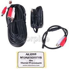 High Sensitive Mini Pre-amp Microphone Audio for Security Camera Sound Voice M3L