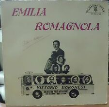 BORGHESI VITTORIO ORCHESTRA FOLK EMILIA ROMAGNOLA LP ITALY