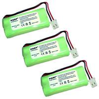 Pack de 3 HQRP Batterie Téléphone sans Fil pour At&t EL52300 EL52350