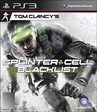 PS 3 Games Tom Clancy's Splinter Cell: Blacklist (Sony PlayStation 3, 2013)