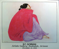 R C Gorman Civia Gallery Fine Art Poster FREE USA LOWER 48 SHIPPING L@@K