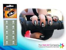 SmART-Nails - Skull Nail Art Stencils N041 Professional Nail Product