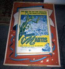 THE DEADLY MANTIS original R-1964 one sheet movie poster CRAIG STEVENS