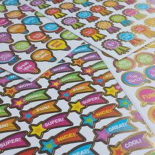 180 Reward Stickers Bulk School Teacher Merit Resource Good Children Parents