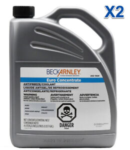 2 Gallons Engine Coolant/Antifreeze BLUE Concentrated REPLACE OEM # BQ1030004