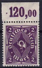=== DR Infla Mi. 224b Oberrand ** , gepr. BPP, Kat. 150€ ===