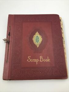 Late 1940s Baseball Scrapbook Ruth DiMaggio Ted Williams, Musial More 60 Pgs