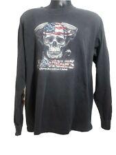 Vintage Black J&P Cycle Long Sleeve T Shirt Xlg