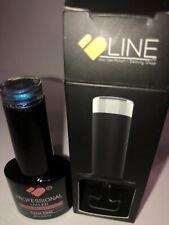 Line - nail gel polish professional UV/LED - NO WIPE TOP! BLUE CHAMELEON