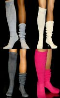 Slouch Socks Long Large Sexy Pick Color Heavy Hooters Uniform School Run Flawed