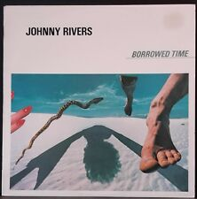 JOHNNY RIVERS - BORROWED TIME PROMO AUS PRESS 1980 INTERFUSION NM COND