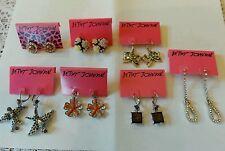 Betsey Johnson fancy earrings! (Price for ONE pair)