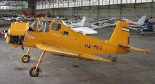 Z-37 Cmelak Hummel Zlin Z37 Flieger Desktop Holz Modell Big NEU