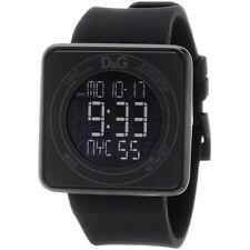 Nuevo D&G DOLCE GABBANA alta pantalla táctil de contacto & Reloj Alarma DW0734-RRP £ 145