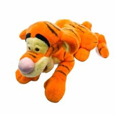 "Disney Winnie the Pooh Large Plush Tigger 25"" Laying Jumbo Stuffed Animal Toy"