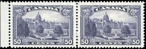 Canada Mint NH VF Pair of 50c Scott #226 1935 King George V Pictorial Stamps