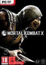 Pc Game Mortal Combat x Uncut DVD Shipping New