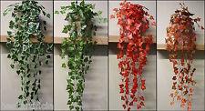 Best Artificial Colgante Hiedra Guirnaldas planta de vid jardín boda Exterior