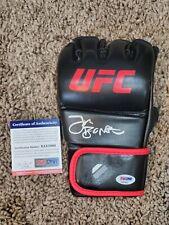 Jon Bones Jones PSA/DNA Witnessed Autograph UFC MMA Glove COA Auto Signature