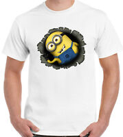 Minion Hole - Mens Funny Minions T-Shirt