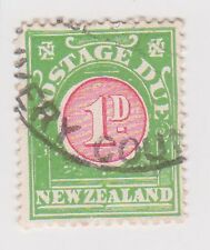 (BNB-89) 1902 NZ 1d red &green postage dues (B)