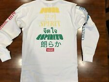 Vans Spirit Longsleeve T-shirt White  ( L ) $ 38