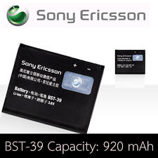 BATTERIE ORIGINE SONYERICSSON BST-39 W508 W910i Z555i ORIGINAL BATTERY AKKU