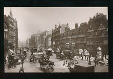 London Holborn Old Houses LEWIS & BURROWS Photo Dept advert RP PPC c1900s?