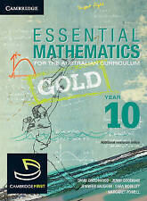 Essential Mathematics Gold for the Australian Curriculum Year 10 by Jenny Goodm…