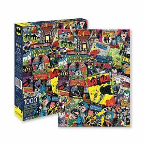 DC  Batman Collage 1000 Piece Puzzle Jigsaw