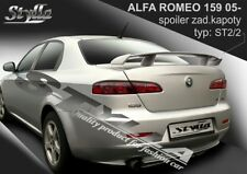 SPOILER REAR BOOT ALFA ROMEO 159 WING ACCESSORIES