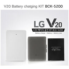 LG V20 Original Battery Charging Kit BCK-5200 Charger + 3200mAh Battery + Case