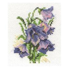 Alisa Cross Stitch Kit-Campanillas
