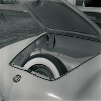 Volkswagen VW Karmann Ghia 1956 OLD CAR ROAD TEST PHOTO 2