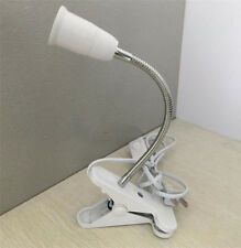 E27 Base Adapter LED Table Lamp Bendable Steel Lamp Holder Flexible Extension