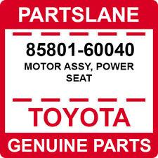 85801-60040 Toyota OEM Genuine MOTOR ASSY, POWER SEAT