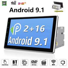 10.1 inch Android 9.1 Double DIN Car Radio Stereo GPS Navi Sat Nav WIFI 1080P