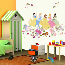 Disney Princess Wall Sticker Vinyl Decals Kids Girls Nursery Decor Aurora Belle