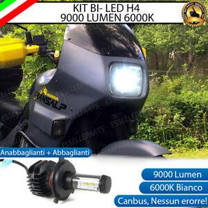 LAMPADA LED H4 6000K 9000 LUMEN CANBUS HONDA TRANSALP XL 600V LUXEON ZES MOTO