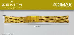 Replacement Watch Band / Bracelet Original Zenith, Steel REF.0.1oz Type Mesh