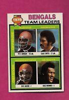 1979 TOPPS # 94 BENGALS  UNMARKED TEAM LEADER NRMT CHECKLIST (INV# A3264)