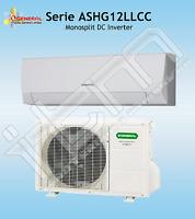 Condizionatore GENERAL FUJITSU Climatizzatore Inverter 12000 Btuh A++ ASHG12LLCC
