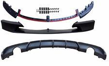 M-TECH,M SPORT BUMPER Front & Rear Lip Spoiler(--0----0--) For BMW F30 3-Series