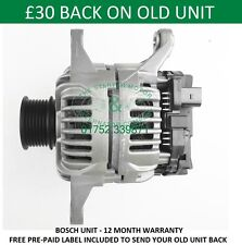 IVECO DAILY 2.3 TD BOSCH ALTERNATOR 2006 2007 2008 2009 2010 2011